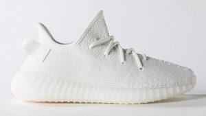 Kanye sigue apostando por las Yeezy Boost 350 V2 con las 'Cream White'
