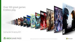 Microsoft anuncia 'Xbox Game Pass', el Netflix de los videojuegos