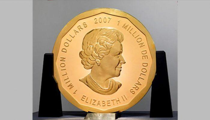 Roban la moneda de oro más grande del mundo del Museo Bode de Berlín