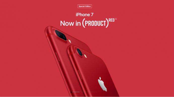 Apple estrena su iPhone 7 rojo, nuevo iPad y una app similar a Snapchat