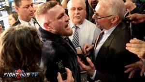 """Conor McGregor da por hecha su pelea contra Mayweather al grito de """"Yo soy el boxeo"""""""