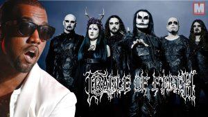 La banda Cradle of Filth arremete contra Kanye West por su camiseta