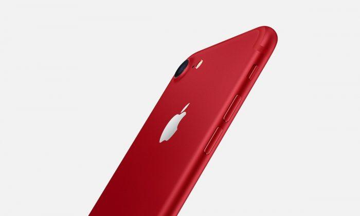 iphone 7 red 2 700x421 - Apple estrena su iPhone 7 rojo, nuevo iPad y una app similar a Snapchat