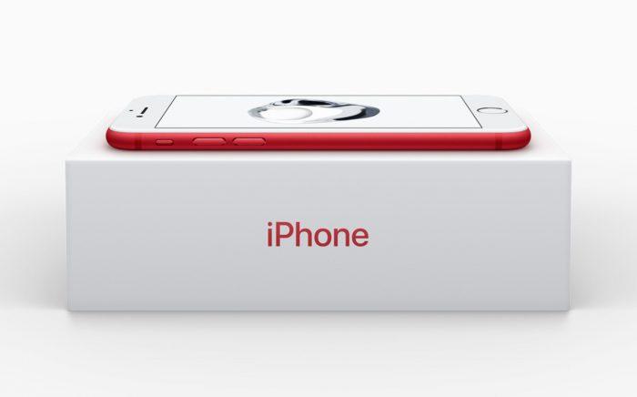 iphone 7 red box 700x436 - Apple estrena su iPhone 7 rojo, nuevo iPad y una app similar a Snapchat