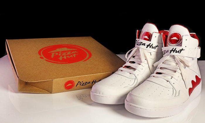 Pie Top, las nuevas zapatillas de Pizza Hut que te permiten pedir pizza online
