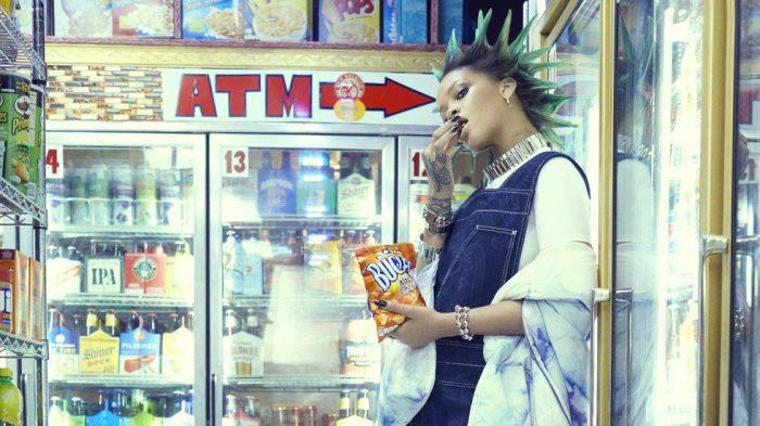 Rihanna rompe las reglas para la portada de Paper Magazine