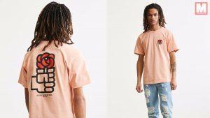 Urban Outfitters pone a la venta una camiseta con el logo del PSOE