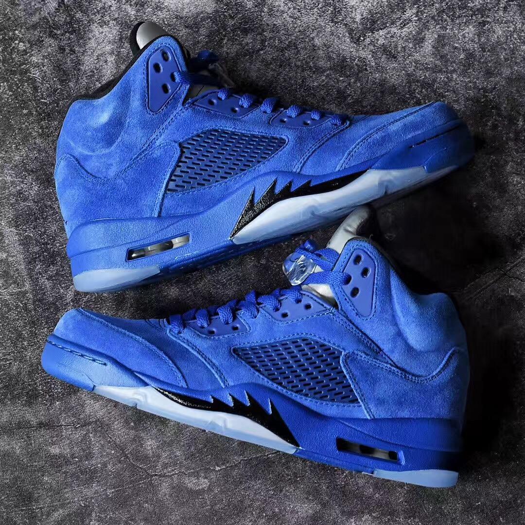 476732e40a49 ... coupon for air jordan 5 blue suede 1 24dbe b62bb
