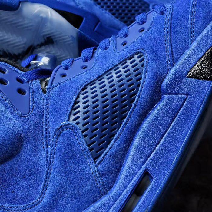 Air Jordan 5 Blue Suede 3 700x700 - Jordan romperá el verano con las Air Jordan 5 'Game Royal'