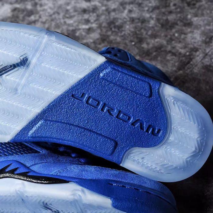 Air Jordan 5 Blue Suede 7 700x700 - Jordan romperá el verano con las Air Jordan 5 'Game Royal'