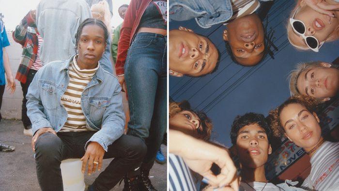 A$AP Rocky x GUESS lanzan la colección 'Ice Cream and Cotton Candy'