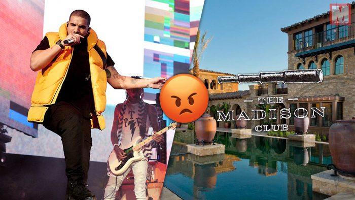 Drake acusa de racista a un club privado cercano a Coachella