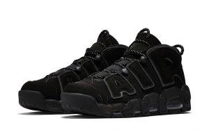 Nike anuncia la salida inminente de las Nike Air More Uptempo 'Triple Black'