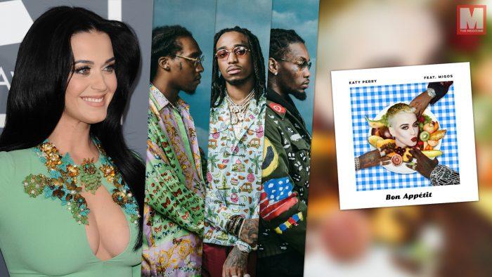 Katy Perry se junta con Migos para lanzar el single 'Bon Appétit'