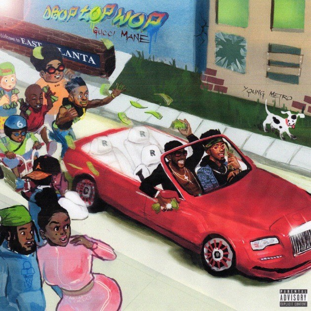 Gucci Mane celebra un año fuera de prisión con 'DropTopWop'