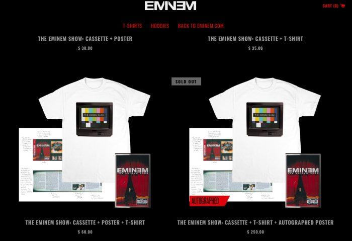 Eminem lanza una edición coleccionista por el 15 aniversario de 'The Eminem Show'