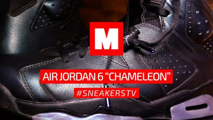 Así son las Air Jordan 6 Chameleon «All-Star» #SNEAKERSTV
