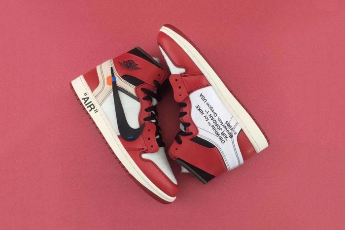 Vislumbrar Madison Óptima  Se filtra el precio de las Air Jordan 1 X OFF-WHITE