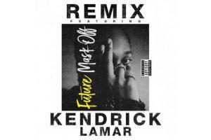 Kendrick Lamar se suma a Future en el remix de 'Mask Off'