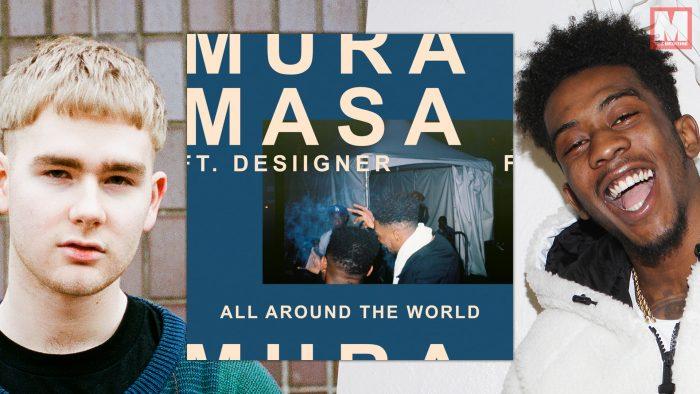 Desiigner y Mura Masa unen fuerzas en el single 'All Around The World'