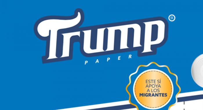 Límpiate el culo con estilo presidencial gracias al papel de baño Trump