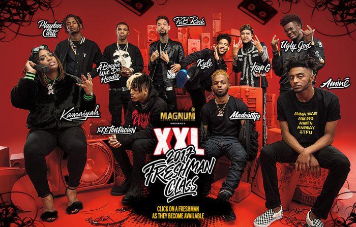 La XXL Freshman 2017 levanta muchas críticas en su presentación