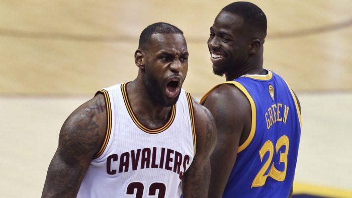El beef entre LeBron James y Draymond Green sigue vivo tras las Finales