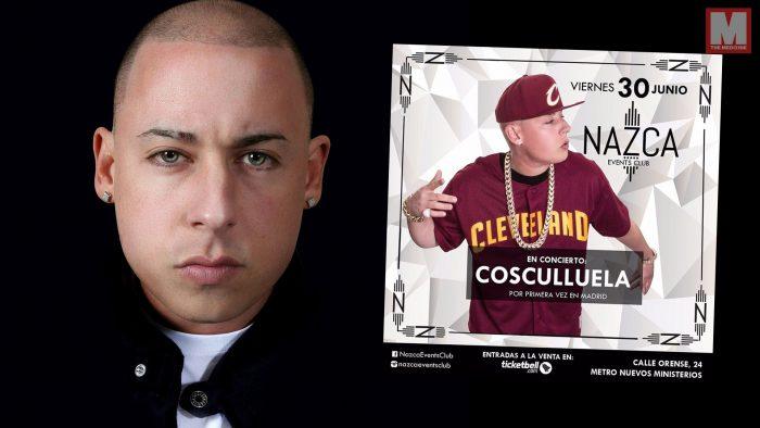 Cosculluela dará su primer concierto en Madrid el viernes 30 de junio