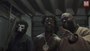 Rick Ross y Bruno Mali Kidd se engorilan en el videoclip 'Monkey Suit'