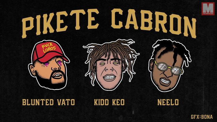 Kidd Keo, Blunted Vato y Neelo forman equipo en 'PIKETE CABRON'