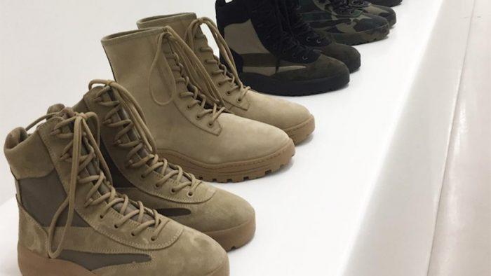 Llega el camuflaje a las nuevas botas militares de la YEEZY SEASON 5