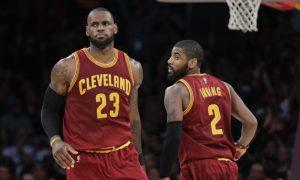 La ruptura entre LeBron James y Kyrie Irving parece cada vez más real