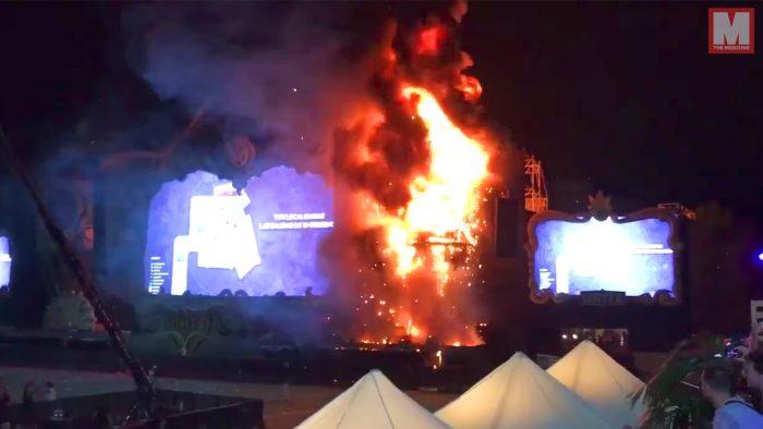 Tomorrowland Barcelona: el festival que acabó ardiendo en llamas