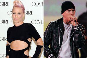 Eminem y Pink colaboran en un nuevo tema que verá la luz muy pronto
