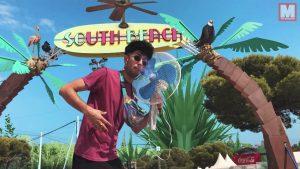 A Bejo el verano no se le acaba en su nuevo vídeo 'El Ventilador'