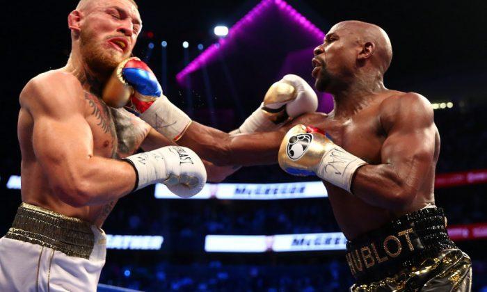 Conor McGregor recibe la baja médica tras su derrota con Mayweather