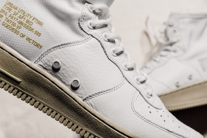 Nike rompe el mercado con las SF Air Force 1 Mid «Neutral Olive»