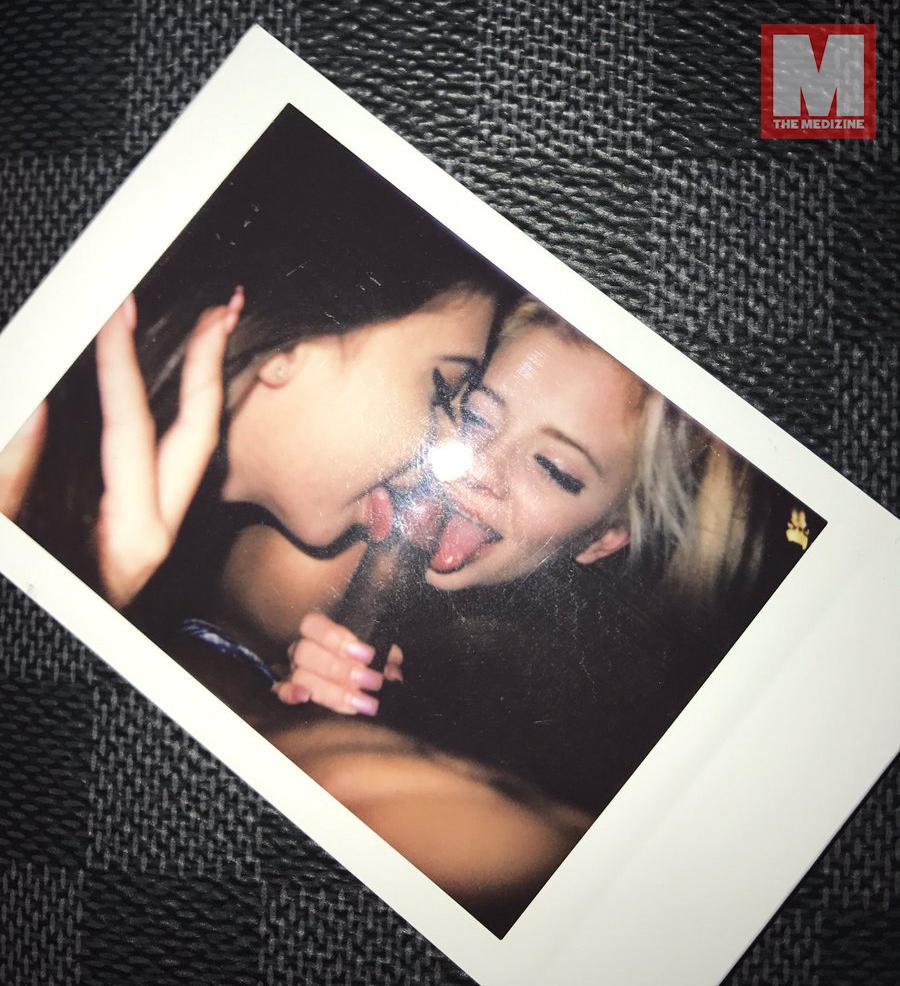 twitter xxxtentacion - XXXTENTACION publica una foto para sus haters recibiendo una felación por dos fans (+18)