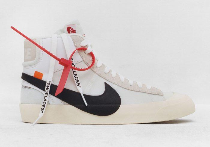 Con Su Todas Nike Las Muestra Sneakers White De Colaboración Off wxqxB0TpgF