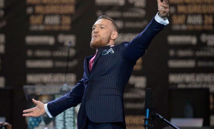 Conor McGregor lanzará su propia línea de ropa el próximo año