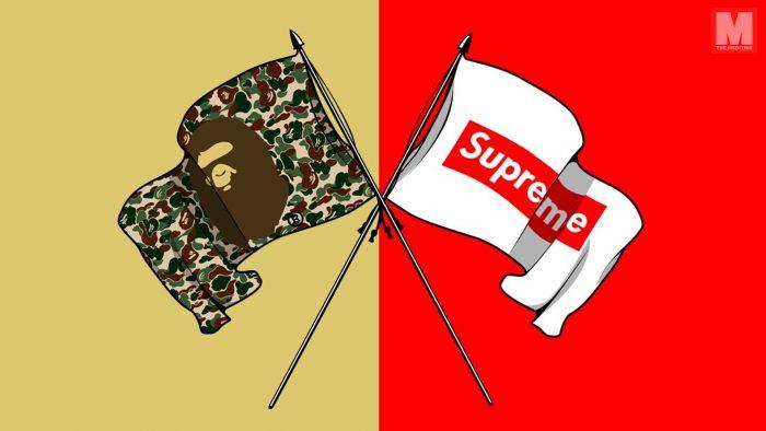 ¿Están Supreme y BAPE preparando una nueva colaboración?