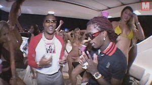 Young Thug y Future se suben al yate en 'Relationship'