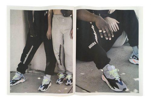 Kanye West desvela un zine con los nuevos productos de Calabasas
