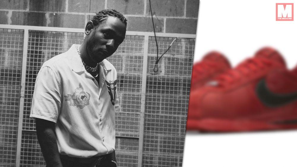 Primeras imágenes de las Nike 'DAMN' Cortez de Kendrick Lamar