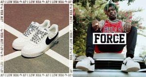 Nike presenta las nuevas Air Force 1 Low NBA Edition