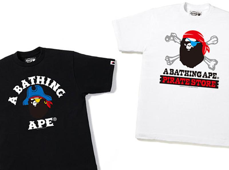 BAPE estrena una tienda online para su línea PIRATE y nueva colección