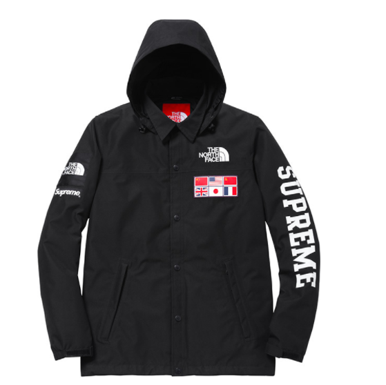 the north face supreme