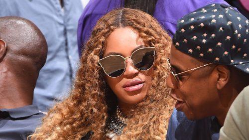Beyoncé y sus gemelos, Sir y Rumi, fotografiados en Miami
