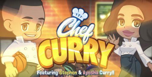Stephen Curry y su mujer lanzan su propio juego móvil 'Chef Curry'