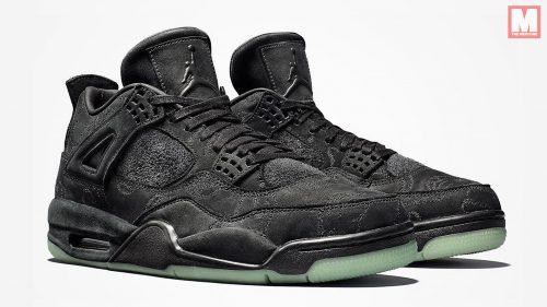 KAWS confirma la fecha de lanzamiento de las 'Black' Air Jordan IV